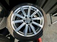 "18"" Genuine Audi alloys 5x112"