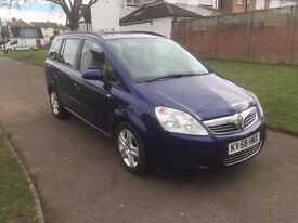 Vauxhall Zafira 1.9 CDTi Exclusiv 5dr£3,699 p/x welcome 6 MONTHS FREE WARRANTY