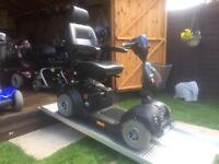 RARE RAT STYLE ( MATT BLACK ) NEO 8 MOBILITY SCOOTER ( ALL TERRAIN ) 8mph ROAD LEGAL - 21st user