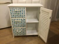Bathroom mosaic cupboard £85