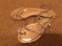 Dune crystal sandals 3