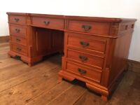 Partners Desk With A Difference For Sale £445.00