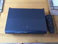 SKY HD 1TB box with sky remote.