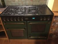 Rangemaster duel fuel 5 ring cooker. In working order but needs some TLC
