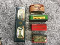 Old tins display etc