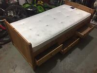 Kids Single Cabin Bed with 6 Drawers
