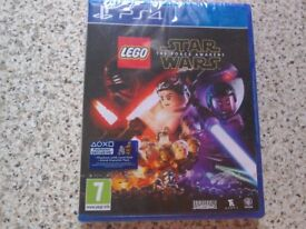 LEGO PLAYSTATION 4 GAME - NEW & SEALED