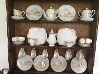 China cups, saucers , plates jugs , as seen above