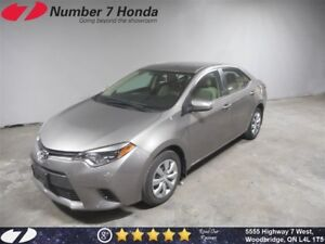 2016 Toyota Corolla LE| Backup Cam, Bluetooth, Power Group!