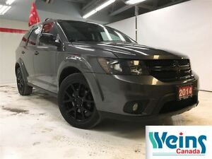 2014 Dodge Journey SXT , BLACK RIMS