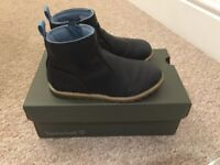 Navy Timberland boots infant size 10