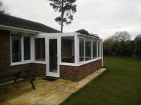 Used upvc white conservatory for sale