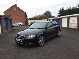 08 plate 2.0L Audi A3 S Line - 175k mileage with FULL service history - MOT due 21/06/17