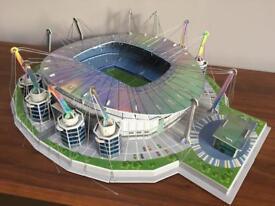 Manchester City Eithad Stadium model