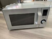 Sharp Microwave (FAULTY - FOR SPARES / PARTS ONLY) Silver