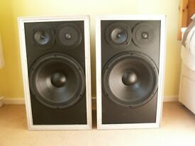 Large Floorstanding Custom Vintage Speakers (Pair) Loudspeakers. Fully Refurbished