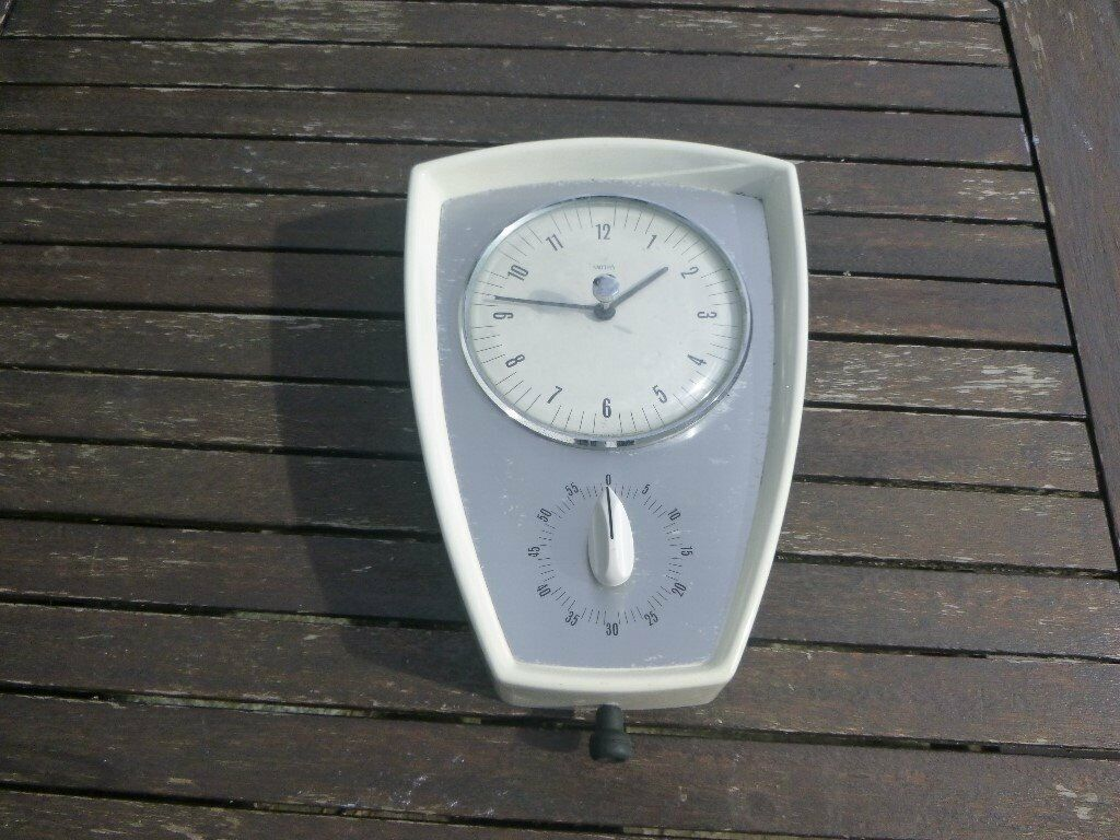 Brilliant 1950 60S Smiths Kitchen Clock With Built In Timer In Dorchester Dorset Gumtree Home Interior And Landscaping Synyenasavecom