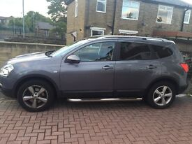 7 seater Nissan Qashqai+2 , clean car , 6 speed , 2.0 diesel ,Cat c , lady owner ,
