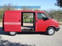 Volkswagen Transporter T4 Panel Van, 1998 R, 2.4d 5 Cyl, SWB, 1200kg, Twin Side Doors, 1 Owner, FSH.