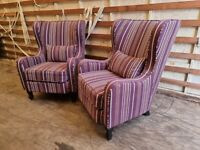 Stunning High-End Statement Armchair or Bedroom Chair Barker and Stonehouse (Delivery Available)