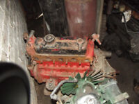 CLASSIC MINI 1275 ENGINE AND GEARBOX ALSO RECONNED ENGINE IN BITS