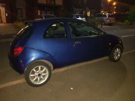 Blue Ford KA 2008