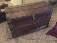 Vintage Pirate chest (treasure long gone)
