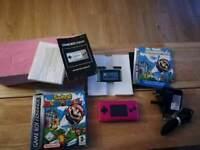 Nintendo gameboy micro complete