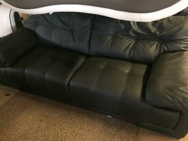 Brand new three seater leather sofa sell