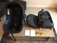 Silvercross car seat with isofix base.