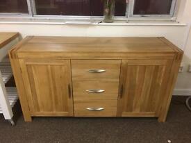 Solid oak sideboard * free furniture delivery*