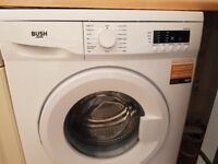 Nearly new Bush washing machine