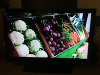 "40"" UMC LCD TV USB Full HD 1080p BUILT IN FREEVIEW CAN DELIVER"