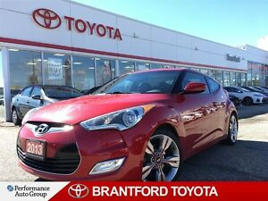 2013 Hyundai Veloster Tech, Navigation, Panoramic Roof, Trade in