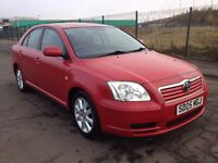2005 Toyota Avensis t3-s 1.8 , mot - May 2017 , full service history , 2 owners,accord,astra,mondeo