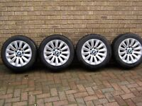 BMW 3 series F90/91/92 alloys with GoodYear Ultragrip winter tyres FREE