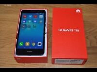 HUAWEI Y6 (16GB - BLACK -UNLOCKED) ANDROID 6.0 / QUICK SALE!!!