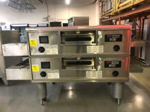 MIDDLE BY MARSHALL CONVEYOR PIZZA OVENS