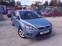 2010 FORD FOCUS ZETEC TDCI 1.6 DIESEL IN BLUE *PX WELCOME* MOT TILL MAY 2018 £2295