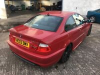 BREAKING PARTS SPARES - BMW 3 series E46 330Ci Sport Imola Red Facelift Coupe 2dr 330i 330 for sale  Livingston, West Lothian