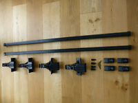 VW T4 Thule Roof Bars with Locks and Keys