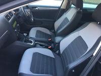 pco car 62 reg 2012vw jetta passat 1.6tdi CR 105 bmt sport DSG auto diesel 96K HPI CLEAR 100%