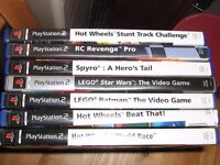 7 PlayStation2 games