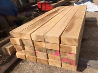 Hardwood railway sleepers garden sleepers quality Timber