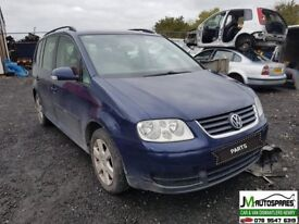 Vw Touran 2007 1.9 tdi 6speed ***BREAKING ONLY SPARE PARTS AVALABLE***