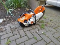 STIHL TS 420 Disc Cutter With Diamond Blade Very Good Condition !!