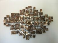 Copper Wall Art Sculpture from John Lewis