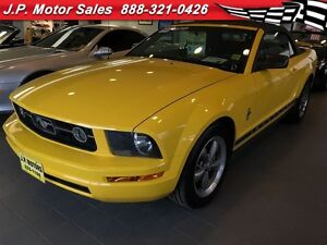 2006 Ford Mustang V6, Automatic, Leather, Convertible