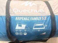 Decathlon 5 man family tent.