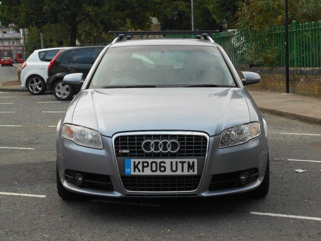 Audi A4 Avant 2.0 TDI S Line 5dr (CVT) 2 keys great runner car
